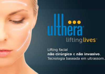 Ulthera Lifting Facial Não Invasivo